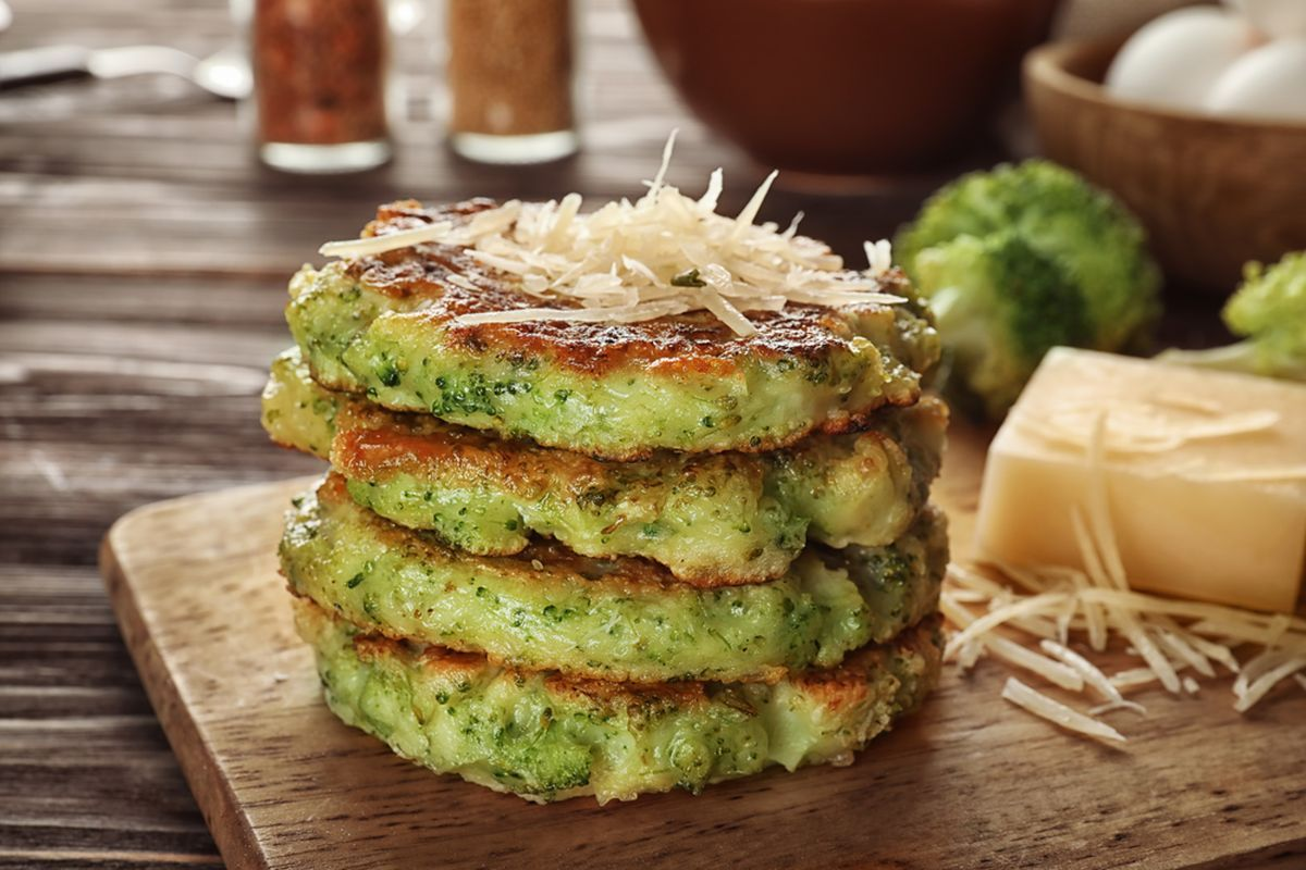 pancake con verdure