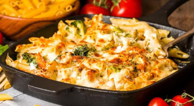 Colorata e saporita: ecco la pasta al forno vegetariana