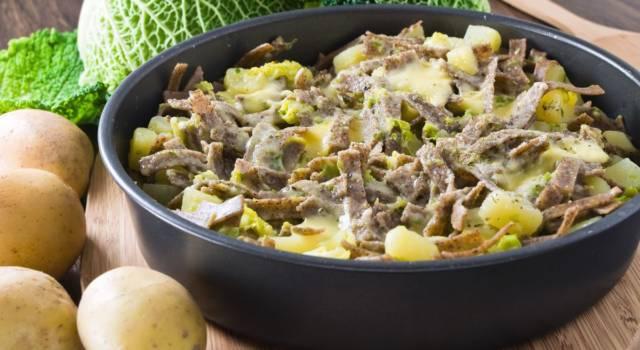 Pizzoccheri alla valtellinese: un piatto tradizionale lombardo!