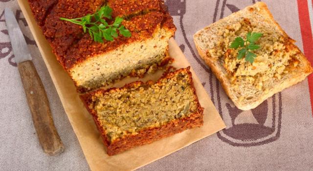 In cerca di ricette veg e gustose? Ecco il polpettone al forno con ceci e patate!