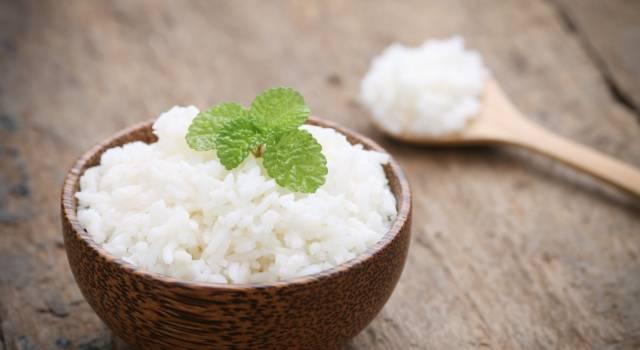 Ridurre le calorie del riso? Grazie a questo trucco è possibile