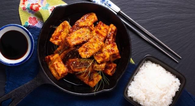 Tofu alla piastra in agrodolce… che piatto saporito!