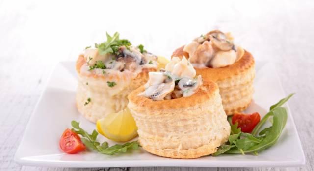 Vol au vent salati: la ricetta per l'antipasto delizioso