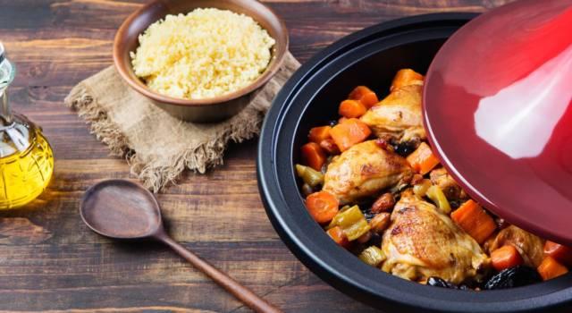 Tajine di pollo e miglio: un piatto gustoso e senza glutine!