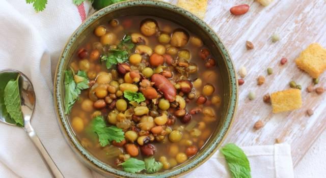 Zuppa di miglio e lenticchie, un primo piatto senza glutine