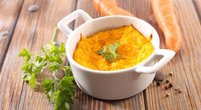 Flan di carote e patate con Parmigiano: un antipasto da favola