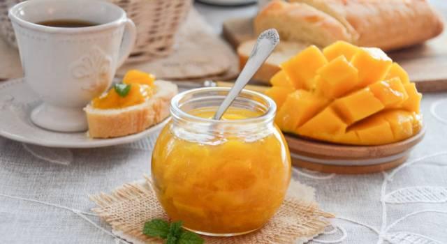 Se cercate una marmellata gustosa ed esotica, dovete provare quella di mango!