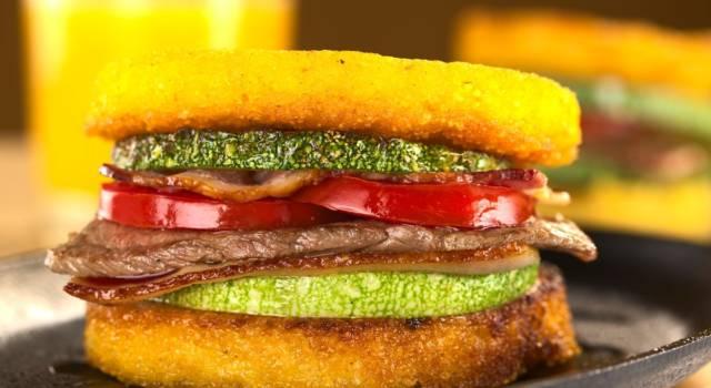 Hamburger di polenta farciti e senza glutine: un vero spettacolo!