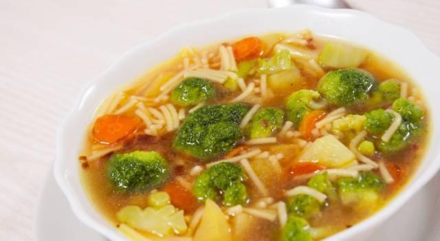 Tipica della cucina romana: è la minestra broccoli e arzilla