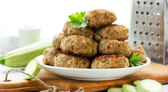 Polpette di miglio e zucchine al forno: sono senza glutine!