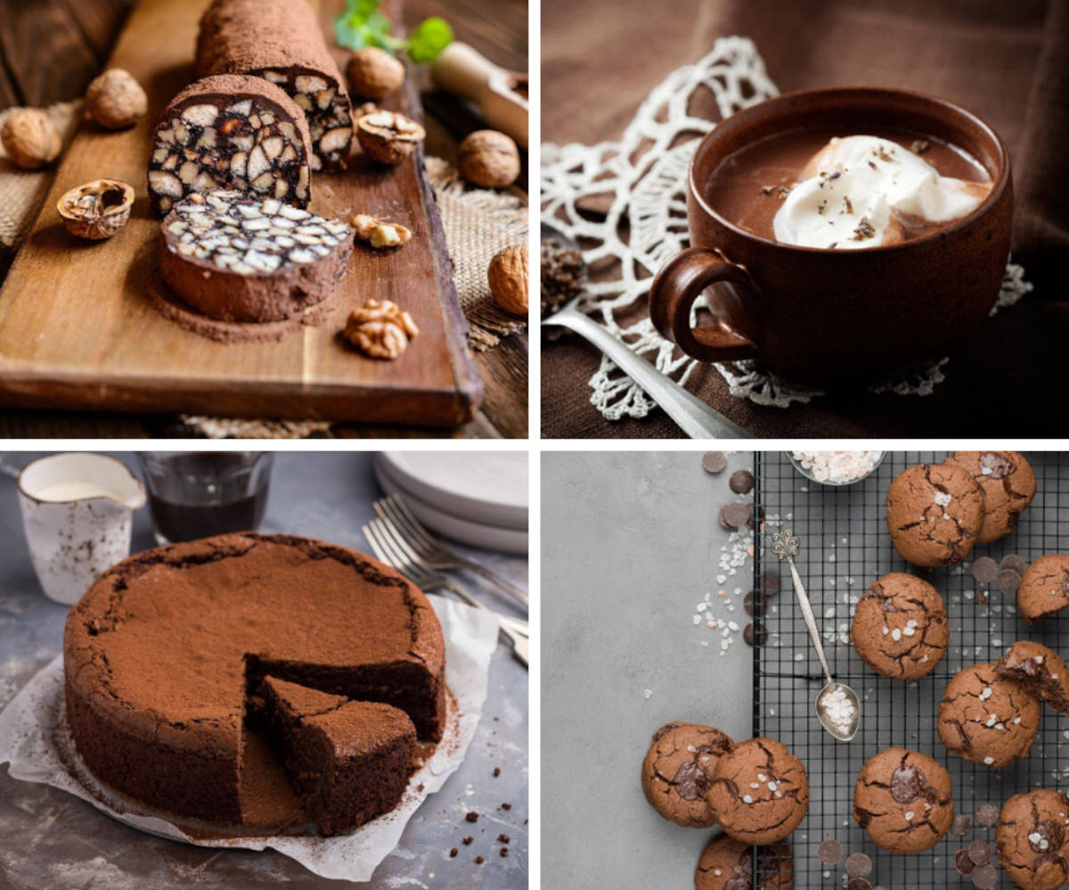 Recipes with chocolate
