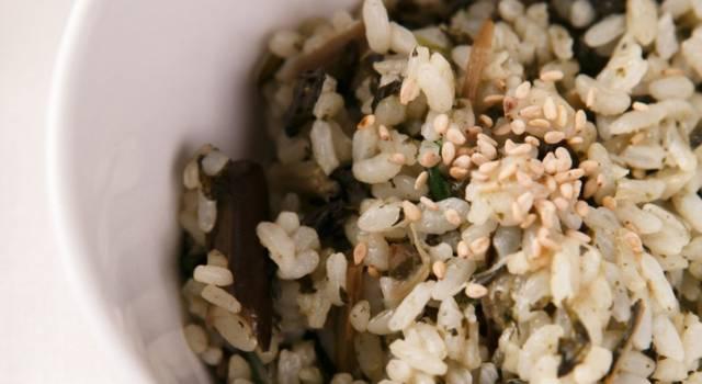 Un primo piatto insolito: il riso con i cardi