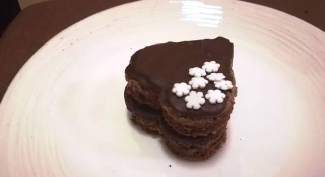 Tortina al cioccolato di San Valentino: la ricetta (anche con il Bimby)