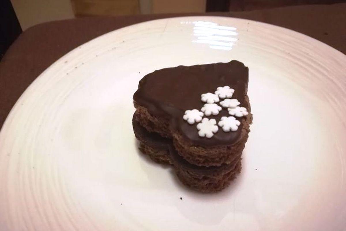 Tortina al cioccolato