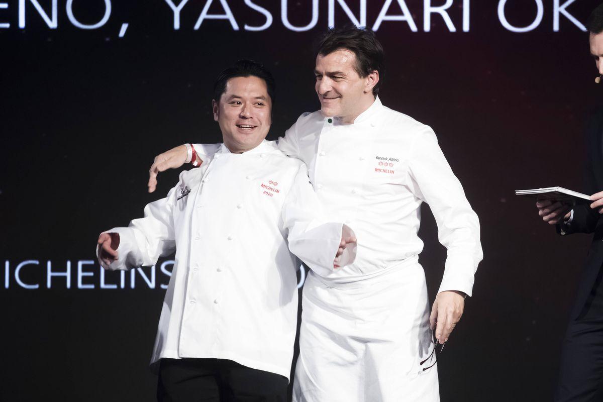 Yasunari Okazaki e Yannick Alleno
