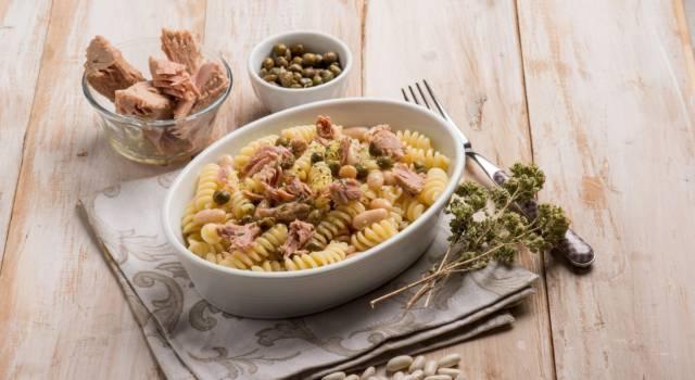 Pasta tonno e fagioli cannellini: primo piatto gustoso e nutriente!