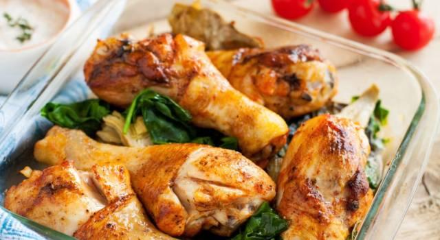 Pollo con carciofi in salsa di limone: semplicemente perfetto