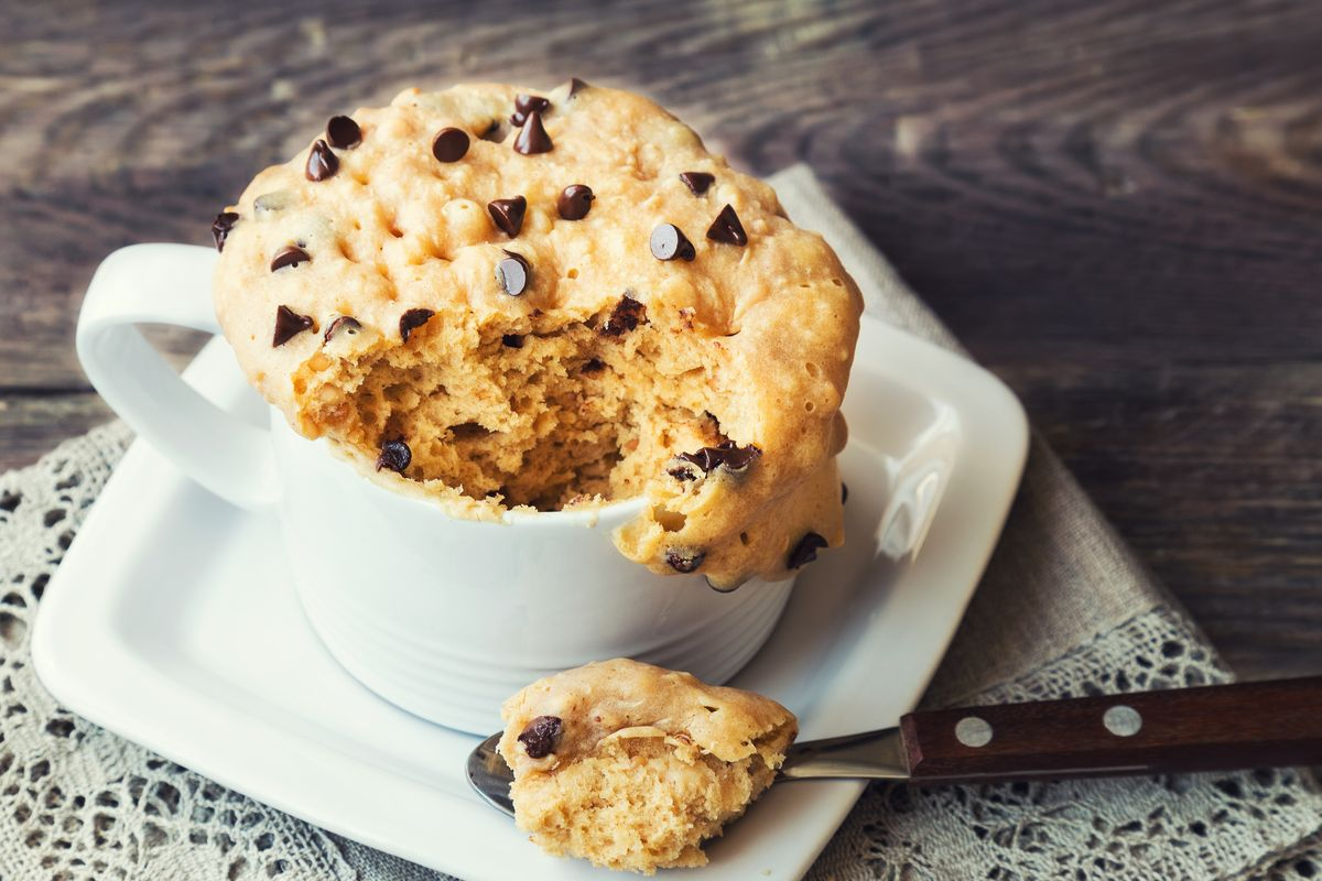 Torta in tazza senza glutine