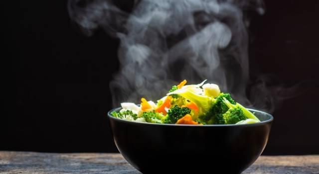 Verdure cotte al vapore con zabaione al Parmigiano: un abbinamento perfetto