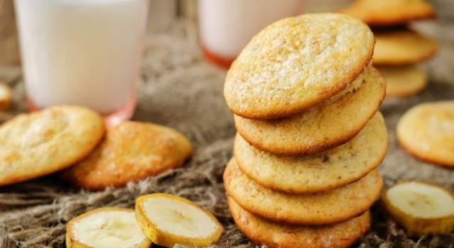 Biscotti alla banana con farina di riso: deliziosi e senza glutine!