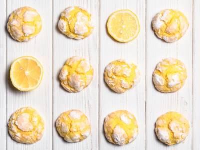 Biscotti al limone: morbidissimi, profumati e pronti in 15 minuti