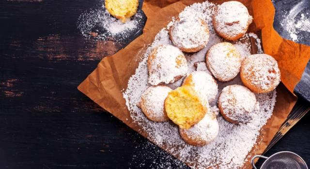 Frittelle al forno: la variante light del classico dolce di Carnevale