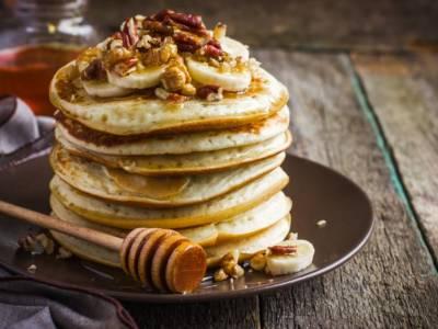 Pancake light con fiocchi di avena: perfetti per la colazione!
