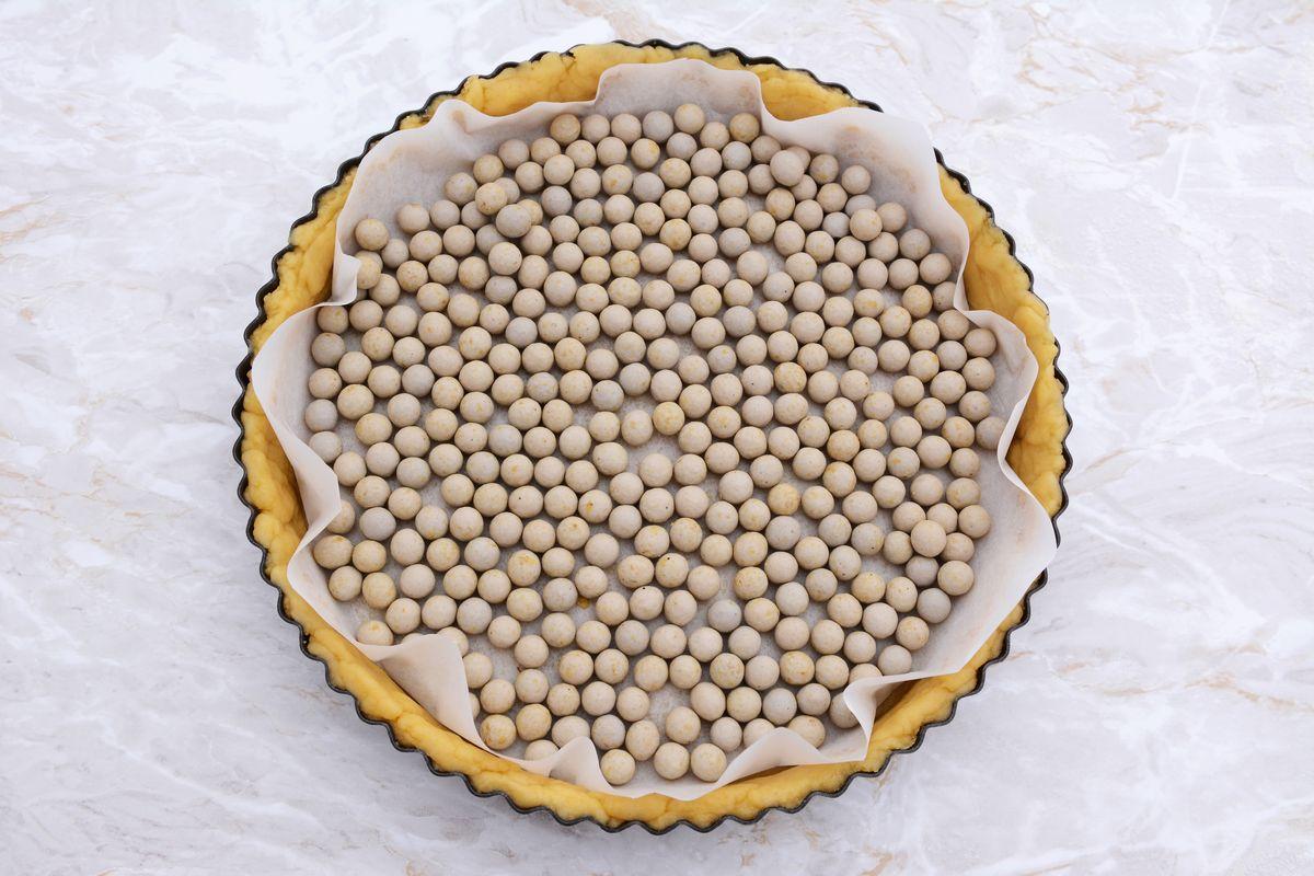 Pasta frolla per crostate alla crema