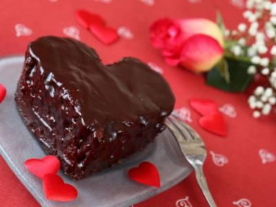 Dessert al cioccolato di San Valentino: un semifreddo… romantico!