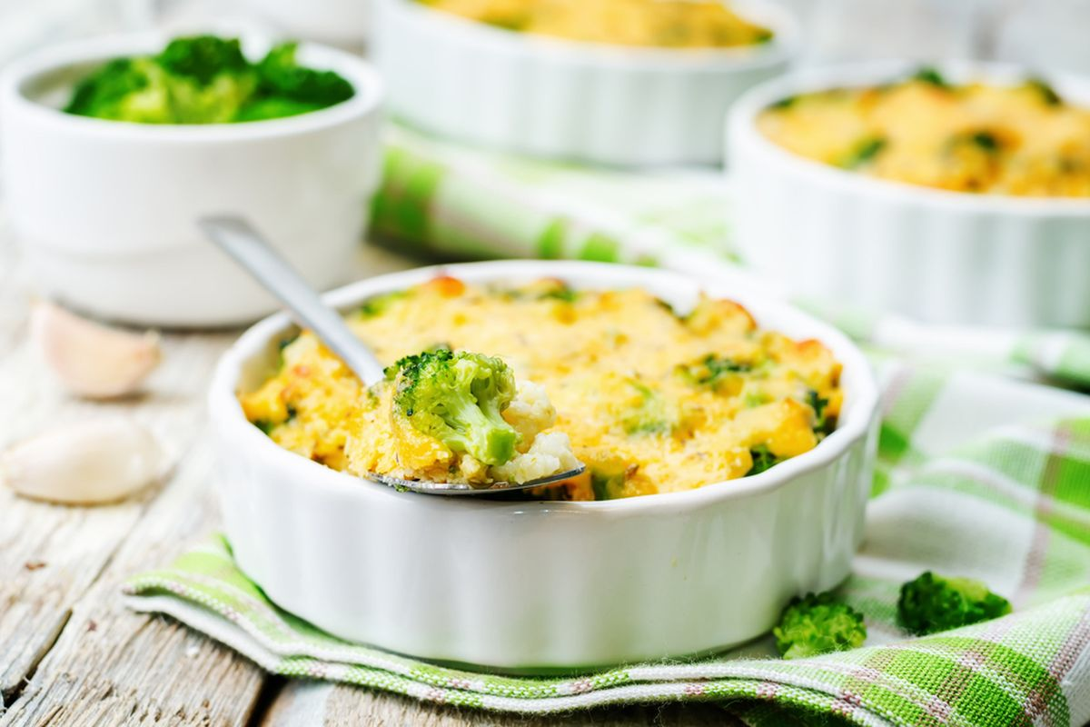 Broccoli gratinati vegan
