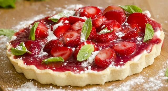 Crostata di fragole: deliziosa, rinfrescante e facile da preparare