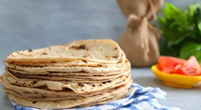 La ricetta del chapati, il pane indiano senza lievito