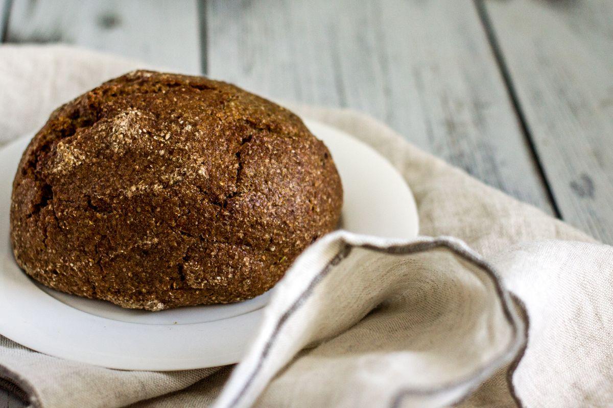 pane senza glutine e senza lievito