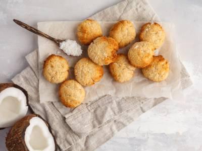 Questi biscotti al cocco senza uova sono incredibili!