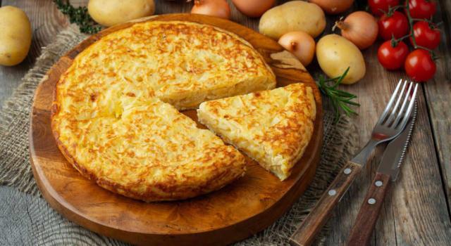 Frittata di patate: la ricetta del piatto classico della cucina italiana!