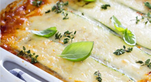 Lasagne con zucchine: voi come le fate? Ecco 5 ricette imperdibili