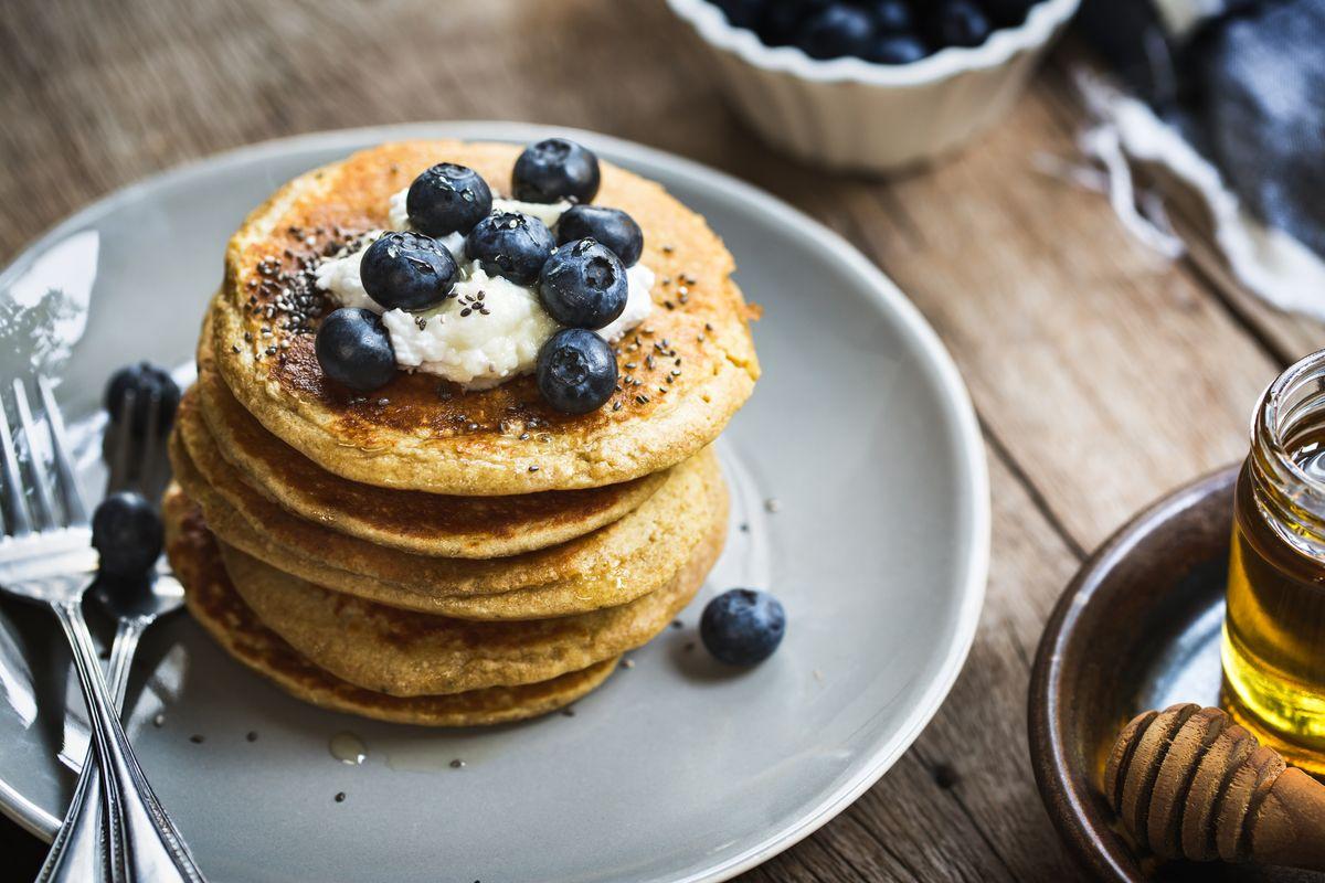 Pancake di aquafaba