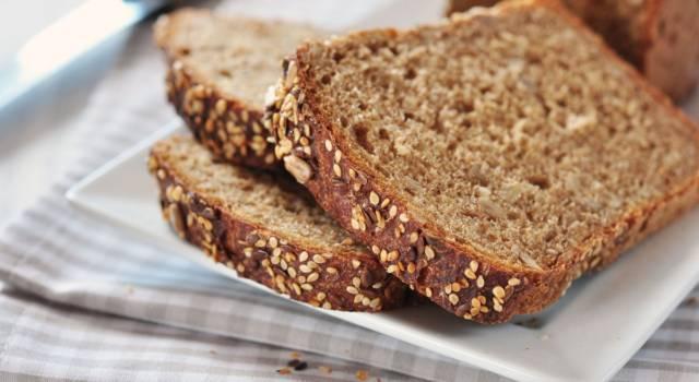Il pane integrale fatto in casa è ancora più buono!