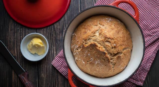 Ecco come preparare il pane senza impasto, il più facile che ci sia