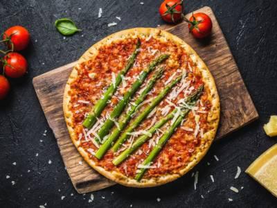 Pizza rustica agli asparagi