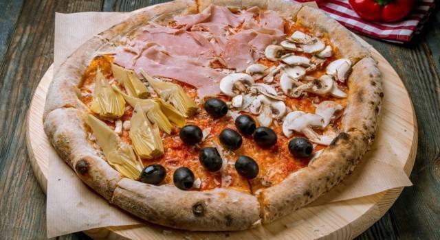 Pizza quattro stagioni: una sorpresa a ogni fetta!