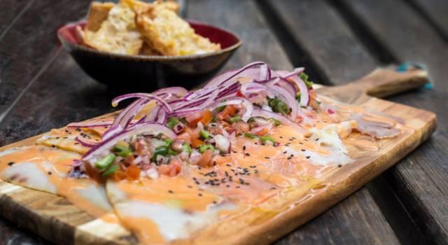 Crostini con pesce spada affumicato, un antipasto super veloce!