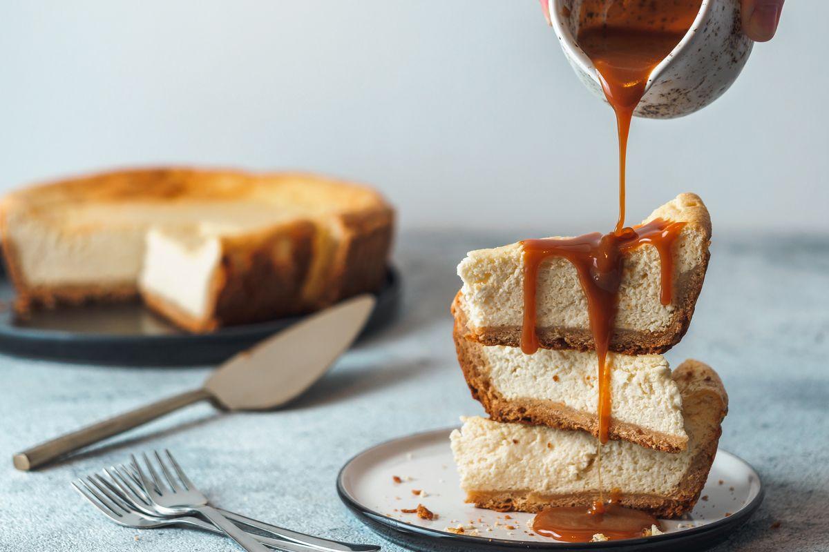 Cheesecake al mascarpone al forno