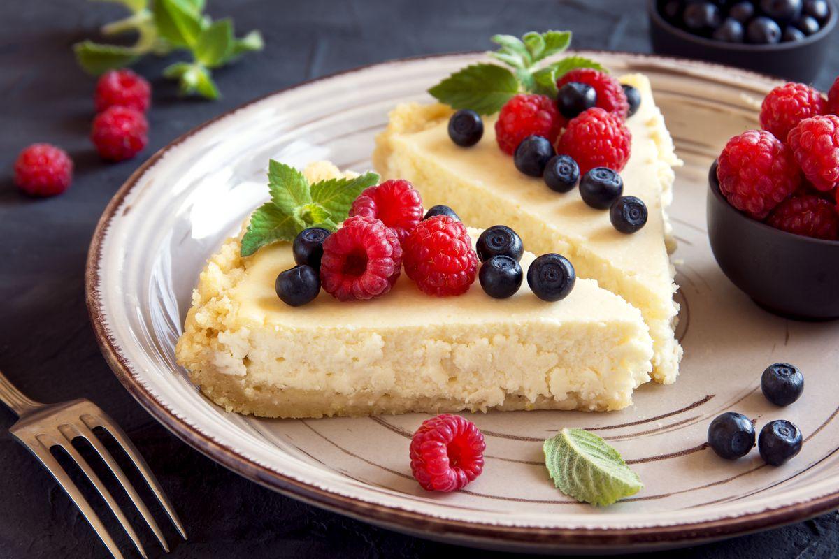 Cheesecake al philadelphia al forno