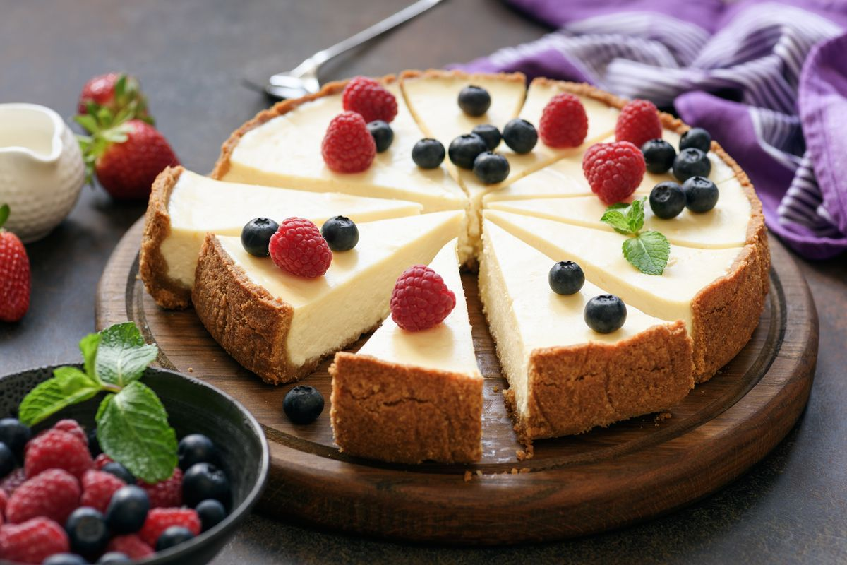 Cheesecake al philadelphia senza cottura