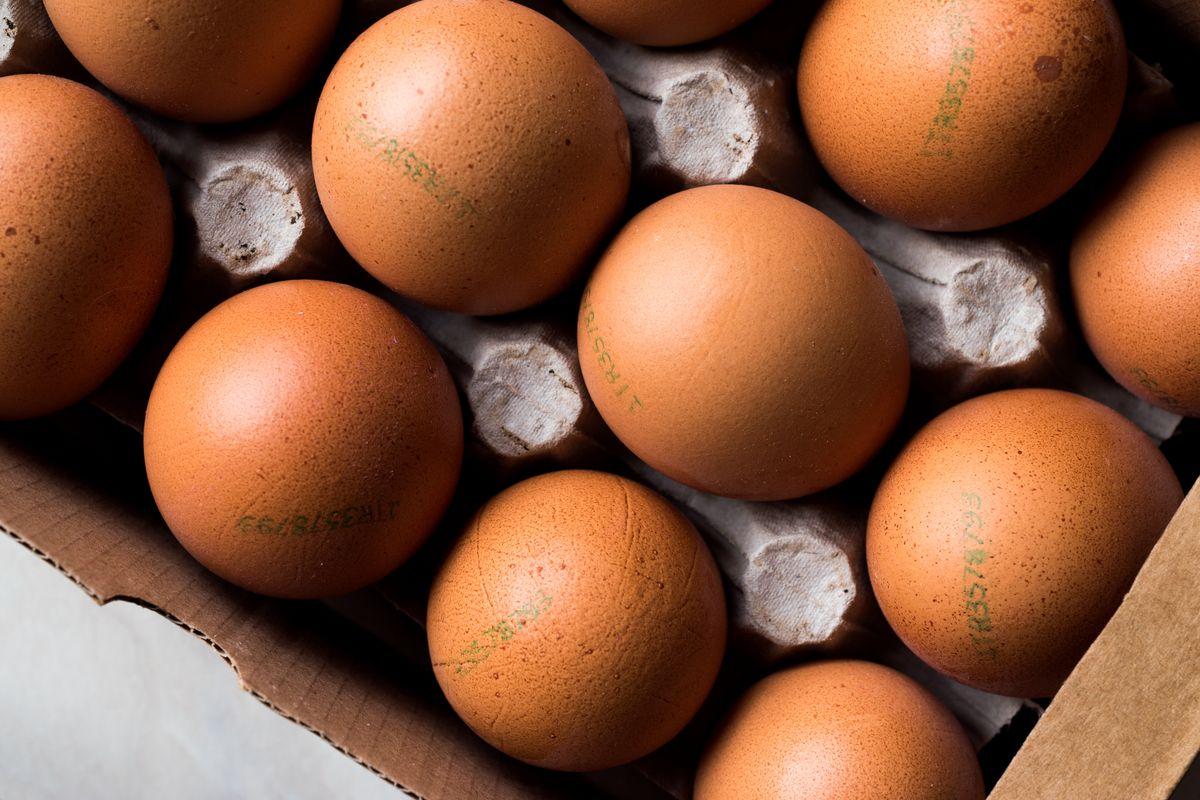 Leggere i numeri sulle uova
