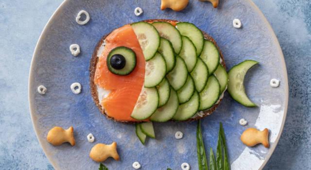 Il pesce finto è un secondo davvero scenografico