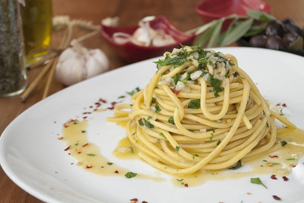 Spaghetti aglio olio peperocino Bimby
