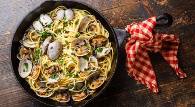 Direttamente dalla Toscana, ecco gli spaghetti con le arselle