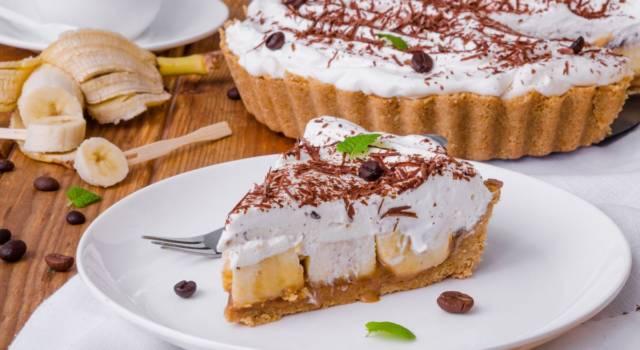 Banoffee pie: impossibile resistere a questa bomba di dolcezza
